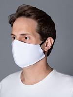 Máscara de Tecido DUPLO 100% Algodão c/ Cinta Elástica (50 unidades)